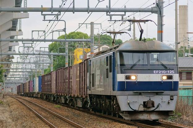 1067レ【EF210-125牽引】