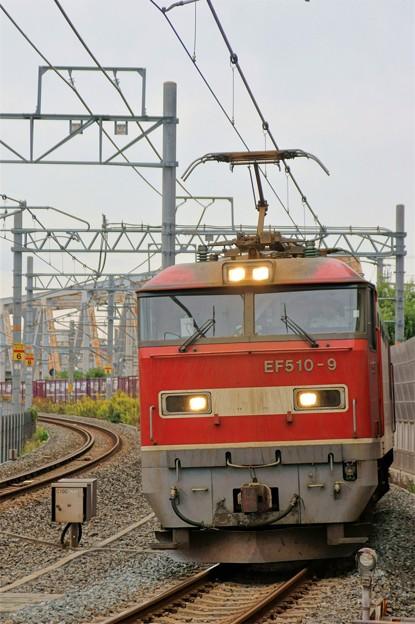 83レ【EF510-9牽引】