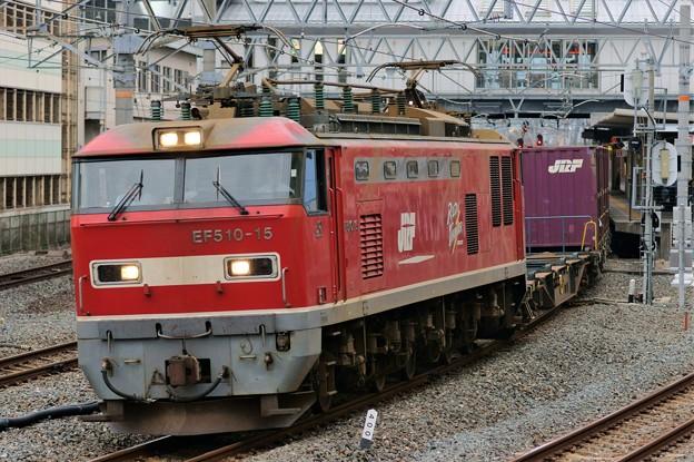 4071レ【EF510-15牽引】