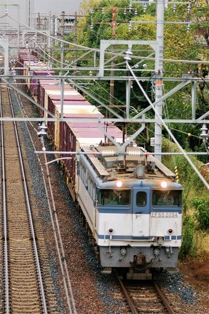 74レ【EF65 2094牽引】