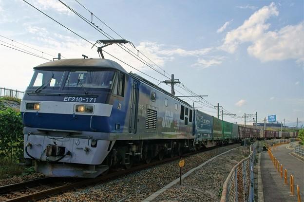 1052レ【EF210-171牽引】