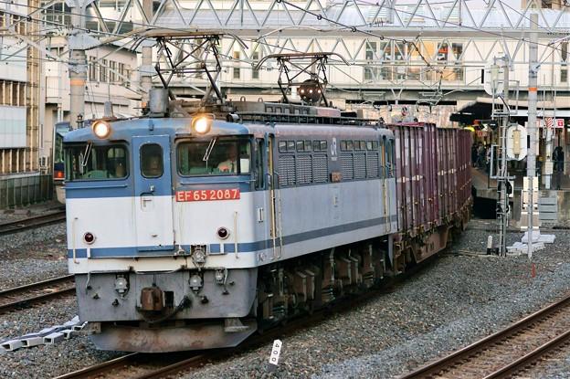 84レ【EF65 2087牽引】