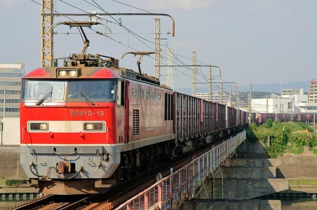 83レ【EF510-19牽引】