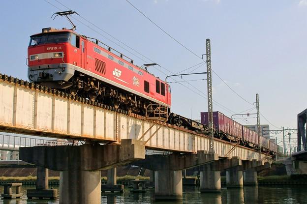4071レ【EF510-6牽引】