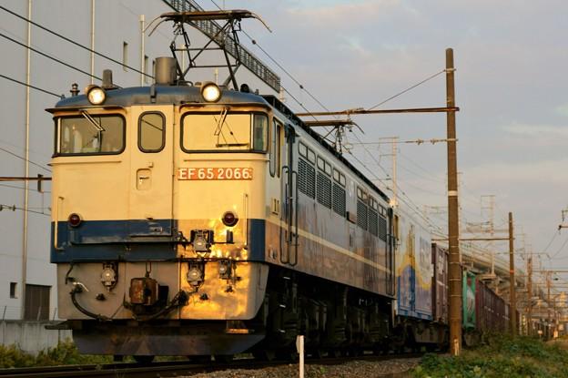 75レ【EF65 2066牽引】
