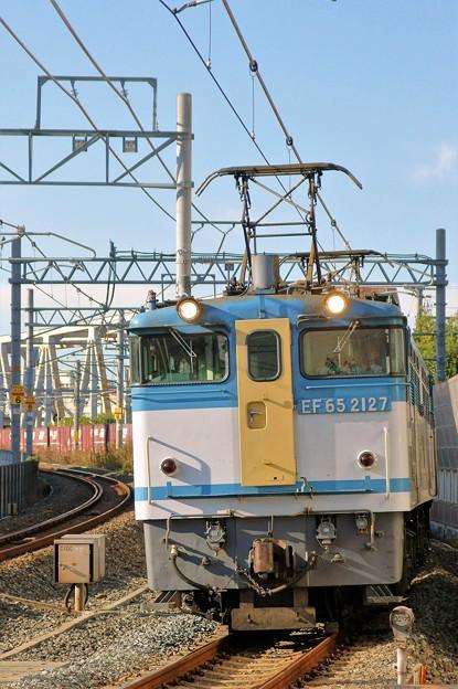 5087レ【EF65 2127牽引】