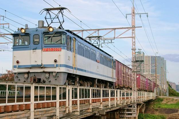 5087レ【EF65 2076牽引】