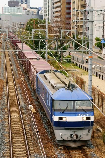 5074レ【EF210-111牽引】