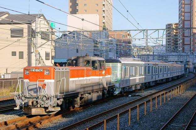 東京メトロ甲種輸送【DE10 1743牽引】