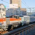 Photos: 東京メトロ甲種輸送【DE10 1743牽引】