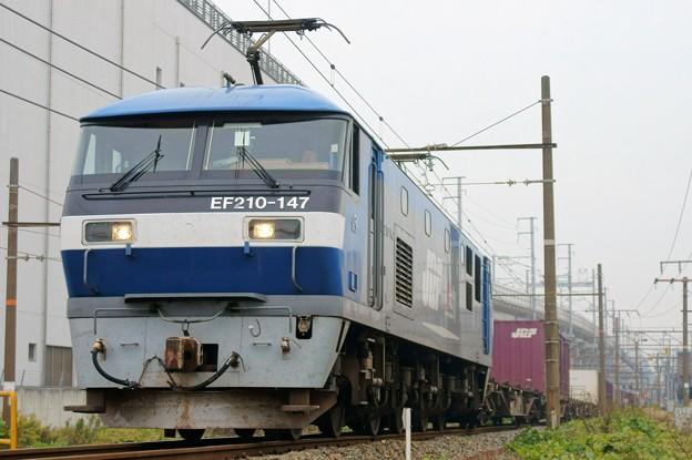 5071レ【EF210-147牽引】