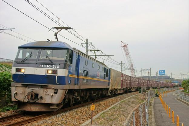 2070レ【EF210-310牽引】