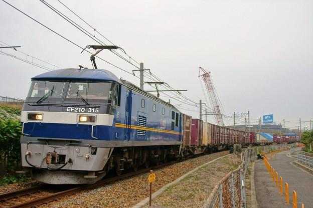 2086レ【EF210-315牽引】