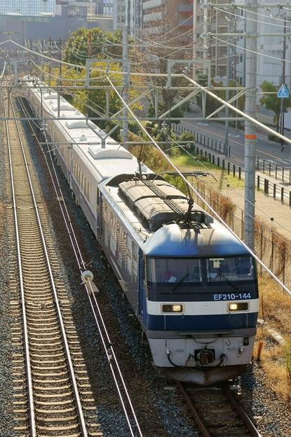キハ261系 甲種輸送【EF210-144牽引】