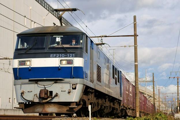 遅れ貨物【EF210-121牽引】