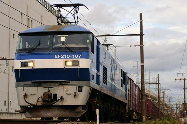 遅れ貨物【EF210-107牽引】