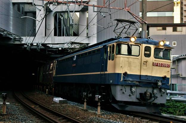 74レ【EF65 2097牽引】