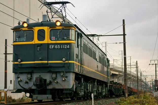 工臨【EF65 1124牽引】