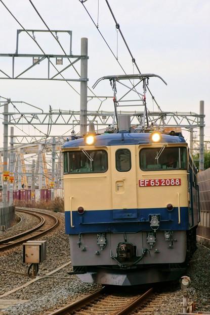 5087レ【EF65 2088牽引】
