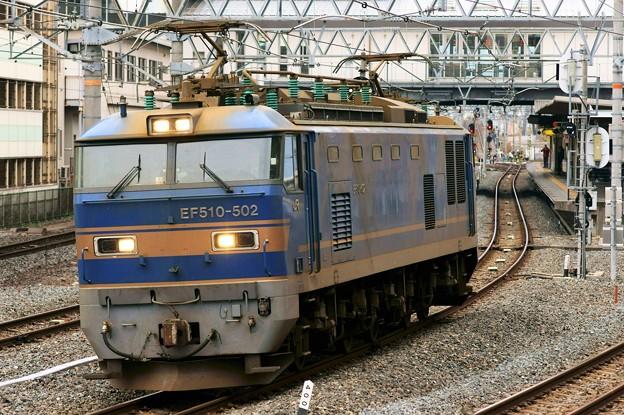 配1392レ【EF510-502単機】