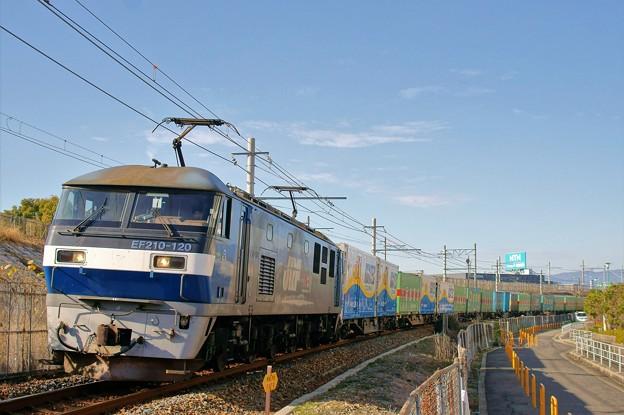 1050レ【EF210-120牽引】