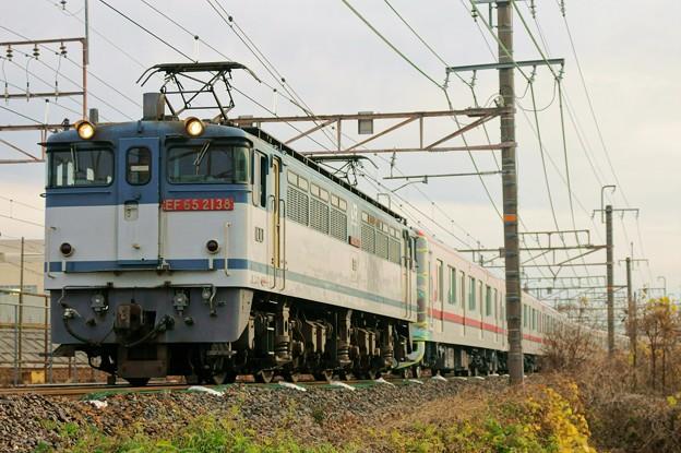 東武70000系甲種輸送【EF65 2138牽引】