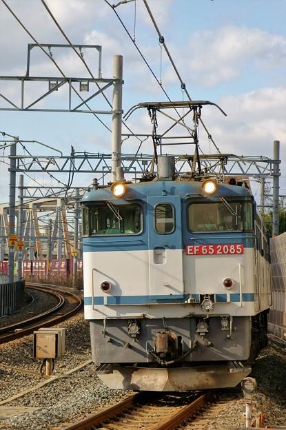 5087レ【EF65 2085牽引】