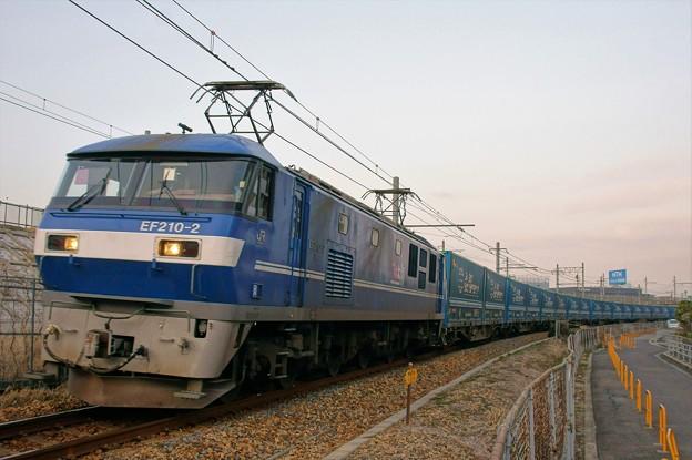 臨8056レ【EF210-2牽引】