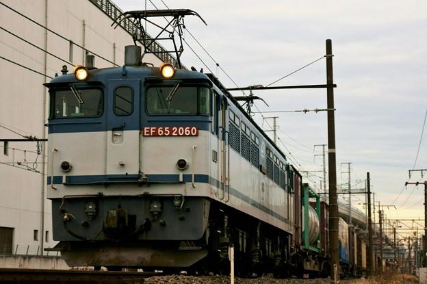75レ【EF65 2060牽引】