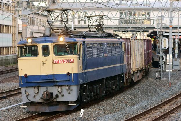 84レ【EF65 2065牽引】
