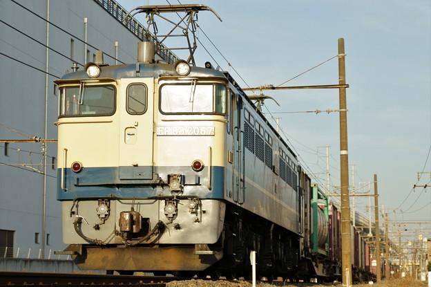 75レ【EF65 2067牽引】