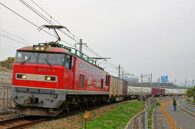 1086レ【EF510-4牽引】