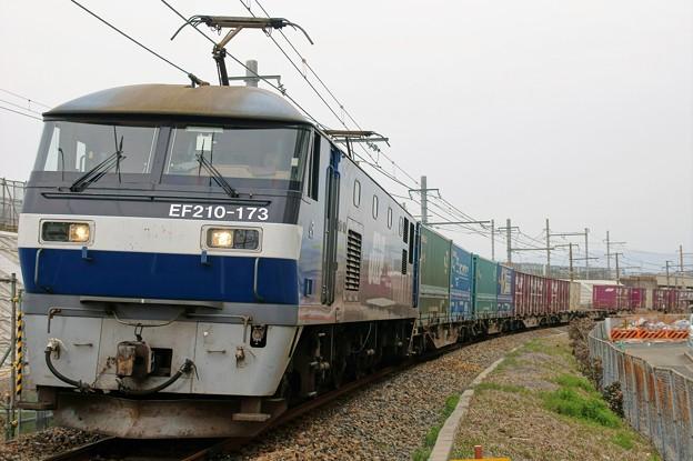 1052レ【EF210-173牽引】
