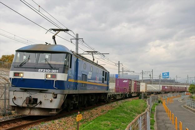 2070レ【EF210-301牽引】