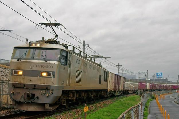 1086レ【EF510-509牽引】