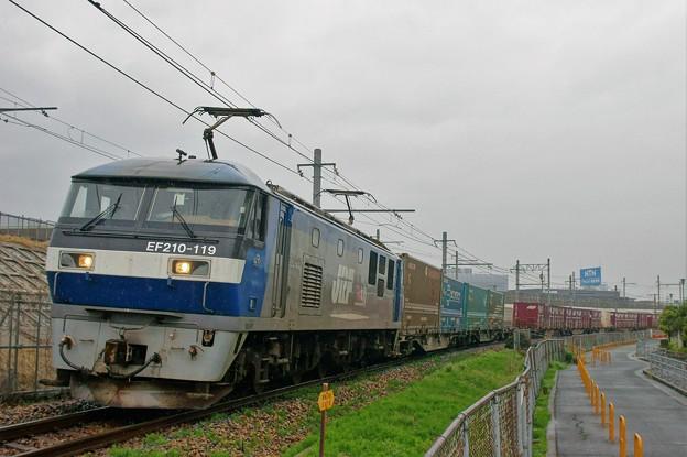1052レ【EF210-119牽引】