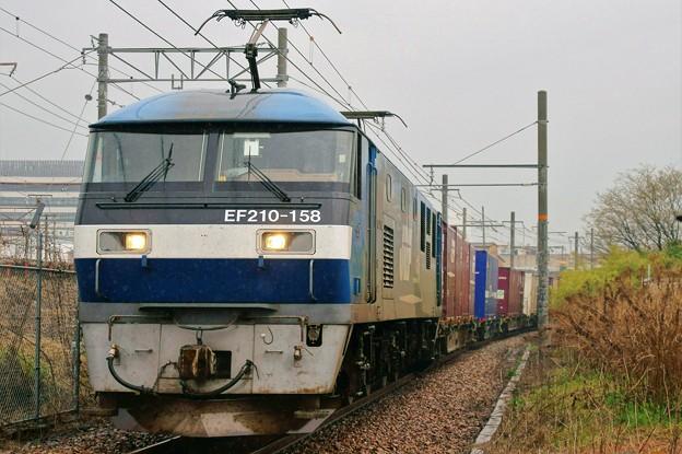 5070レ【EF210-158牽引】