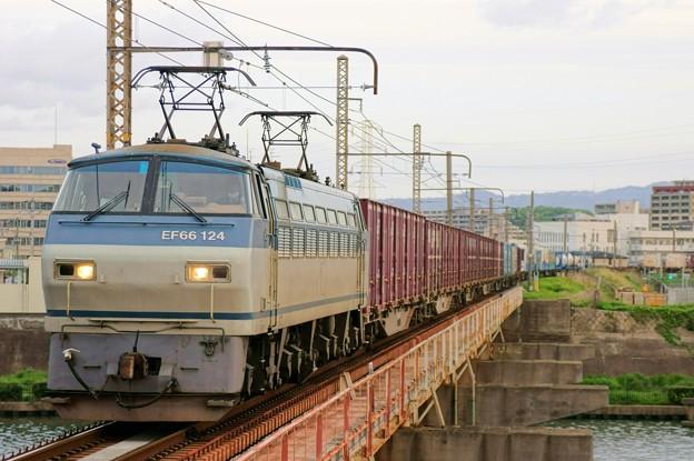 2065レ【EF66 124牽引】