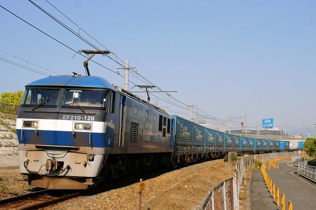 Photos: 臨8056レ【EF210-128牽引】