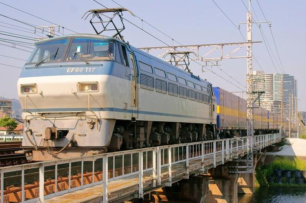 2059レ【EF66 117牽引】