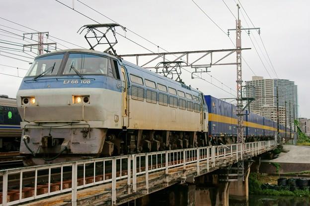 2059レ【EF66 108牽引】