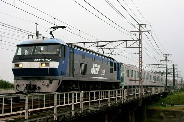 東武甲種輸送【EF210-157牽引】