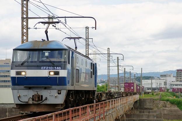 1086レ【EF210-146牽引】