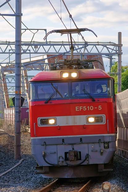 4076レ【EF510-5牽引】