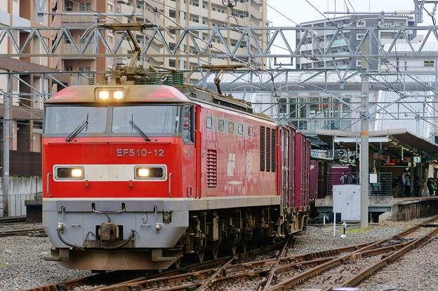 4076レ【EF510-12牽引】