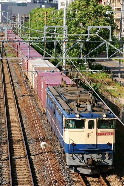 74レ【EF65 2081牽引】