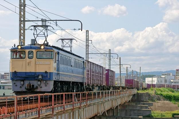 5087レ【EF65 2101牽引】