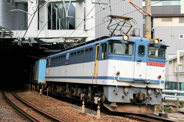 74レ【EF65 2075牽引】