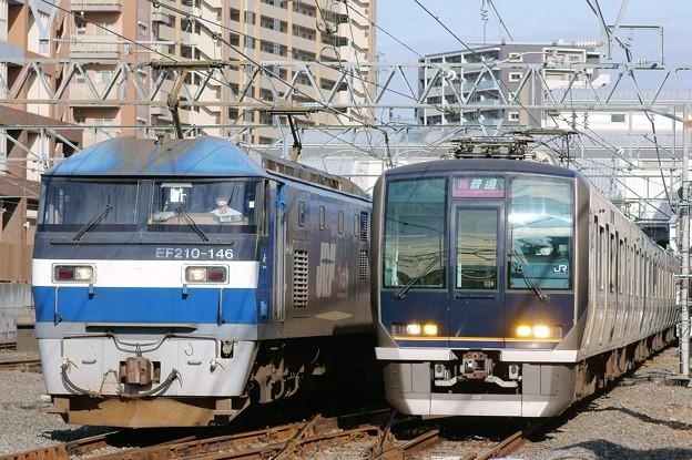 桃太郎と321系