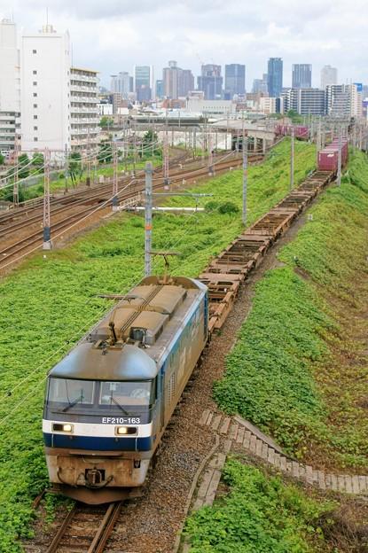 5057レ【EF210-163牽引】